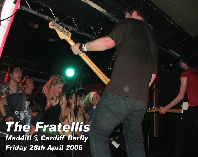 click here to visit The Fratellis on-line