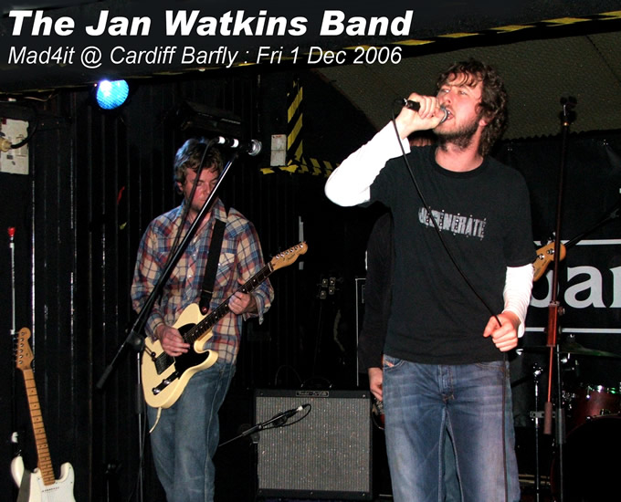 Hear The Jan Watkins Band @ myspace