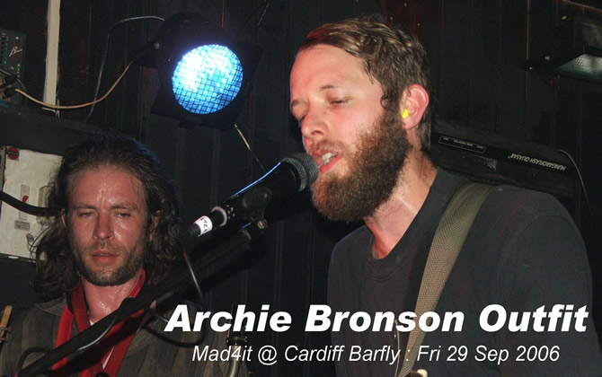 click here for Archie Bronson Outfit on-line