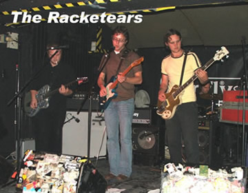 click here for The Racketears on-line