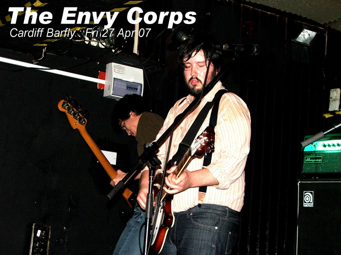 From Ames, Iowa ... The Envy Corps - click here for their myspace