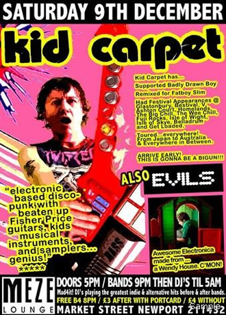 Kid Carpet @ Mad4it pics here